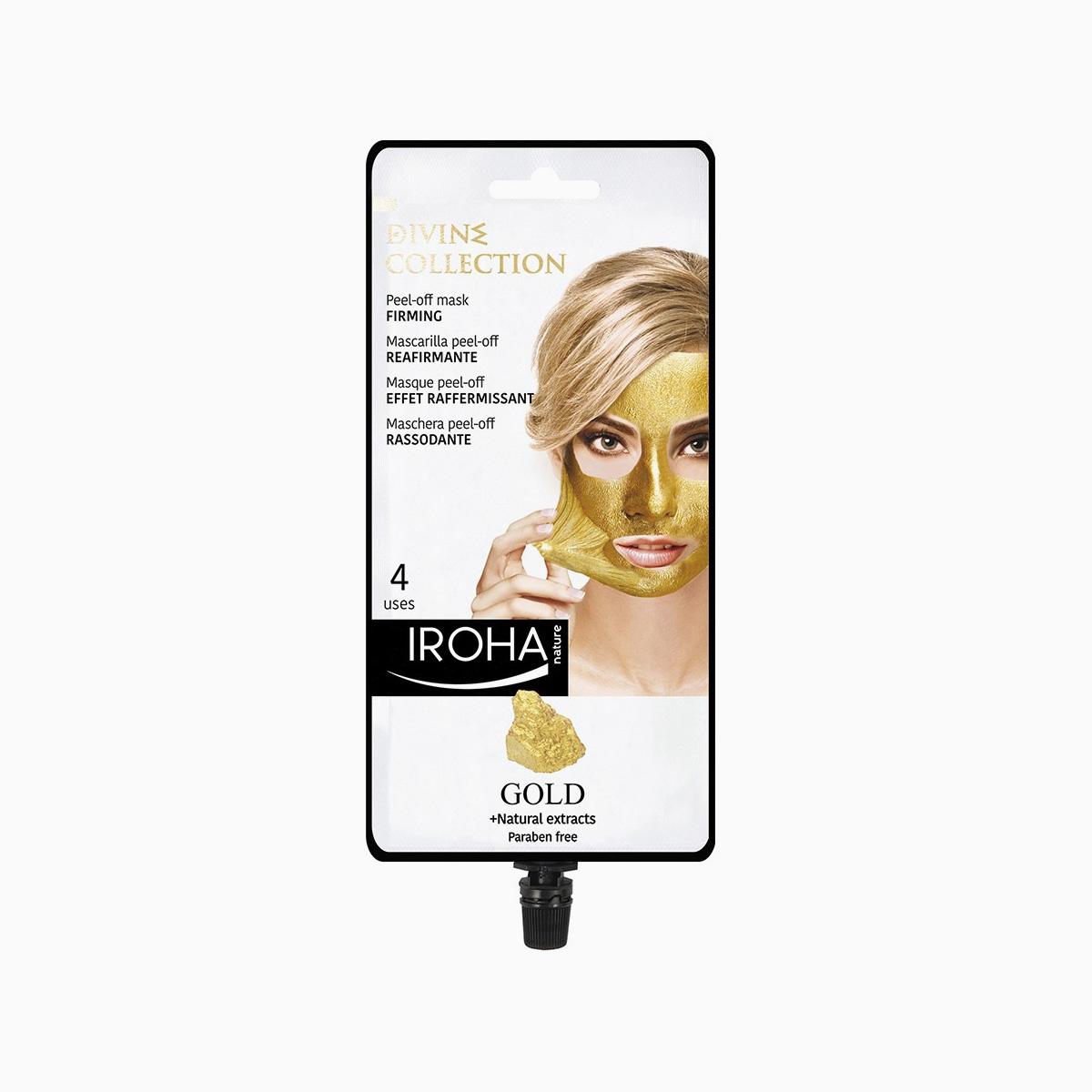 naturora produit masque or 24k peel off