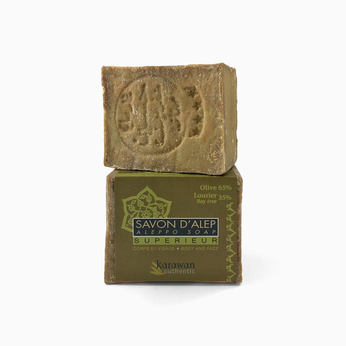 naturora produit savon alep cors visage 200 g